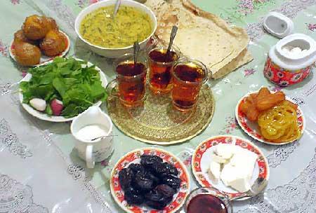 عکس آداب و رسوم مردم کرمانشاه در ماه رمضان