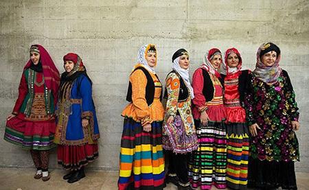عکس لباس سنتی زنان ایرانی چه شکلی بود