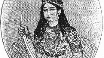 عکس نخستین پادشاه زن مسلمان در دنیاى اسلام