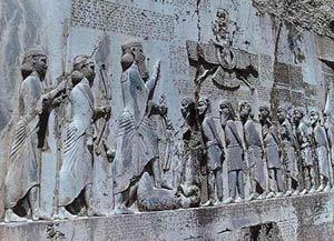 عکس خط و زبان در ایران باستان