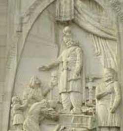 عکس عدالت و قانون در زمان هخامنشیان