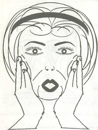 عکس ورزش یوگا برای چاقی صورت