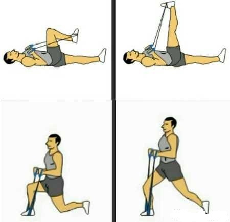 عکس ورزش های موثر برای چاق شدن ساق پا