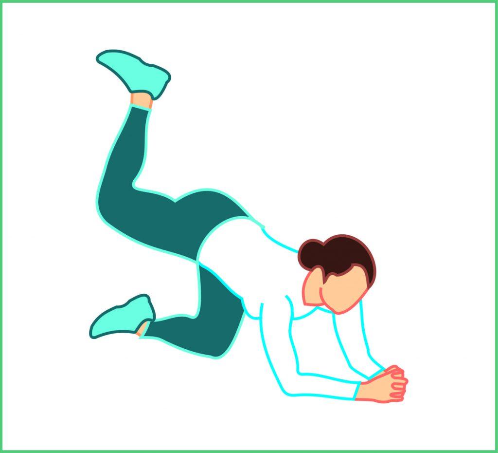 تمرینات چاقی باسن بانوان