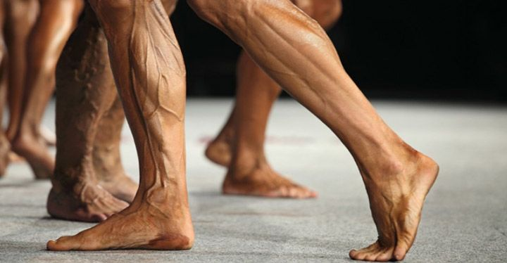 عکس حجم دادن ران پا