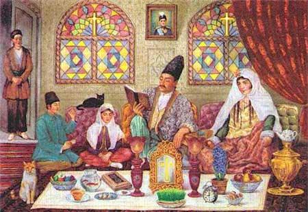 عکس آداب و رسوم عید نوروز