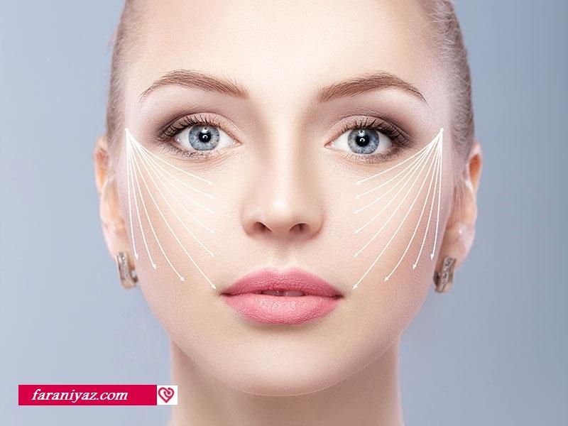 عکس روشهای قابل اجرا برای چاقی صورت
