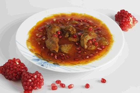 خورشت اناردانه مسما طرز تهیه خورشت انار دانه مسما بسیارخوشمزه ومناسب برای انواع مهمانی ها