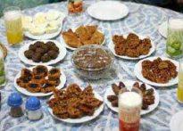 غذاهای مناسب افطاردرماه مبارک رمضان
