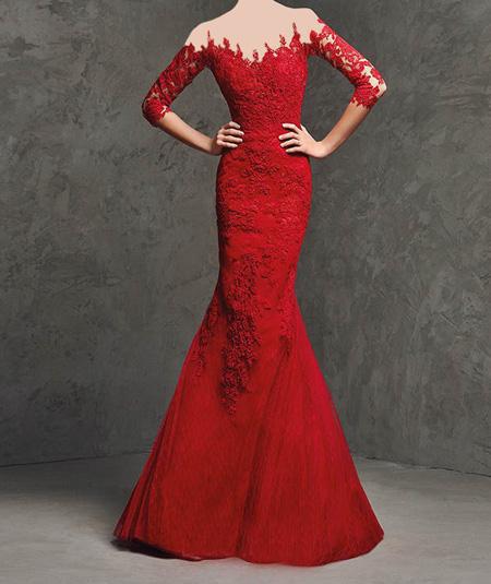 مدل لباس مجلسی قرمز رنگ در پورتال جامع فرانیاز فراتر از نیاز هر ایرانی