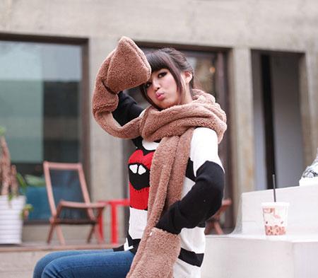 شیک ترین مدل شال و کلاه دخترونه در پورتال جامع فرانیاز فراتر از نیاز هر ایرانی