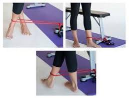 ورزشهای چاقی مچ پا