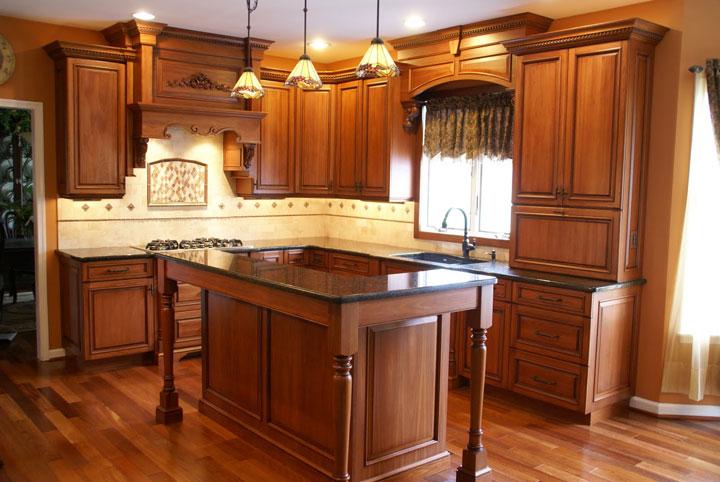 کابینت mdf 2017 جدیدترین و زیباترین مدلهای کابینت چوبی آشپزخانه 2017 در فرانیاز