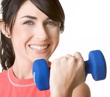 عکس ورزش جهت حجیم شدن سینه