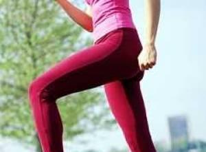 عکس ورزش جهت چاق شدن دور زانو