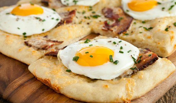 طرز تهیه پیتزا مخصوص صبحانه در پورتال جامع فرانیاز فراتراز نیاز هر ایرانی .
