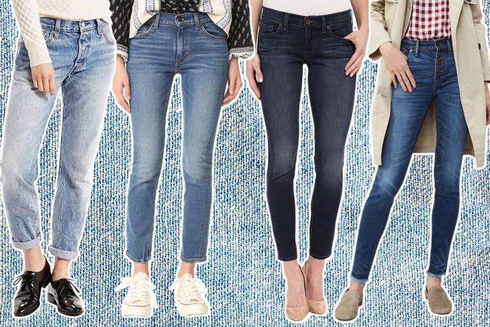 عکس راهنمای پوشش لباس جین