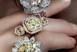 شیک ترین انگشترهای جواهر