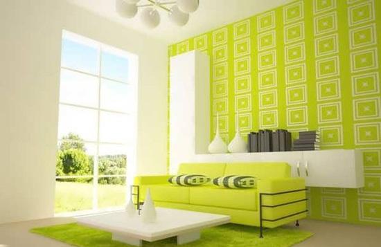 عکس راهنمای انتخاب رنگ اتاق نشیمن