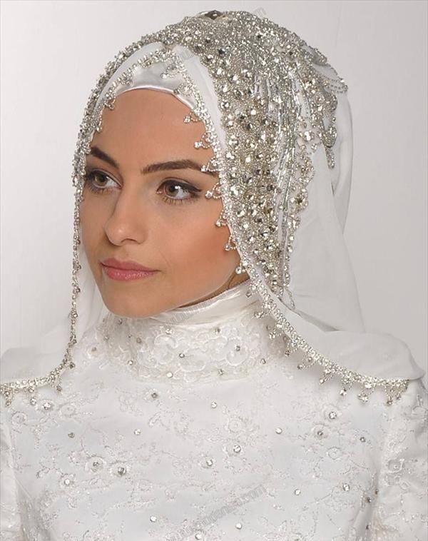 شیک ترین لباس عروسهای محجبه + عکس در پورتال جامع فرانیاز فراتراز نیاز هر ایرانی .