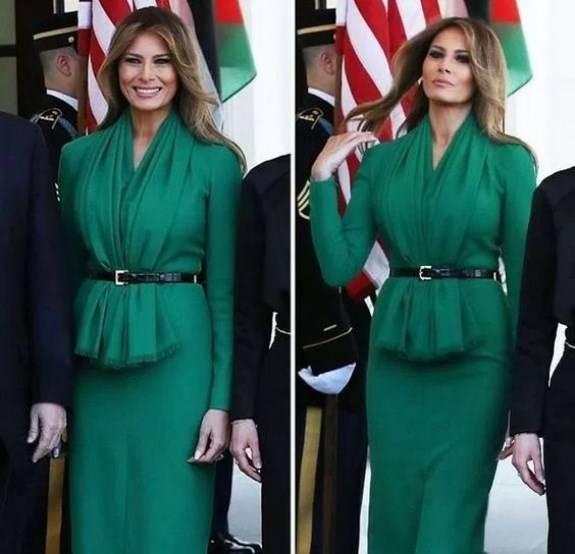 مدل لباس مجلسی ایوانکا ترامپ + عکس در پورتال جامع فرانیاز فراتراز نیاز هر ایرانی .