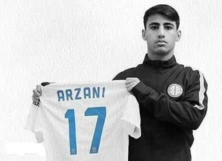 بیوگرافی دنیل ارزانی پدیده نوظهور فوتبال در پورتال جامع فرانیاز فراتراز نیاز هر ایرانی .