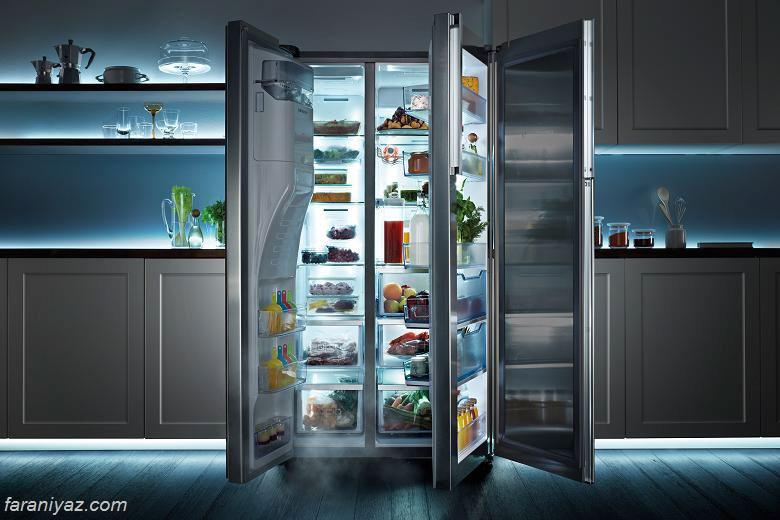 عکس با انتخاب یخچال مناسب , ساده تر اشپزی کنید