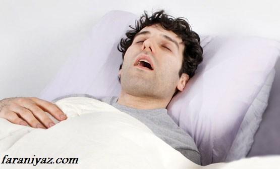 ایا خروپف کردن در خواب یک بیماری است ؟
