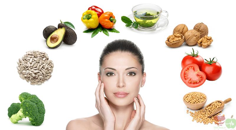 بهترین تغذیه برای سلامت پوست