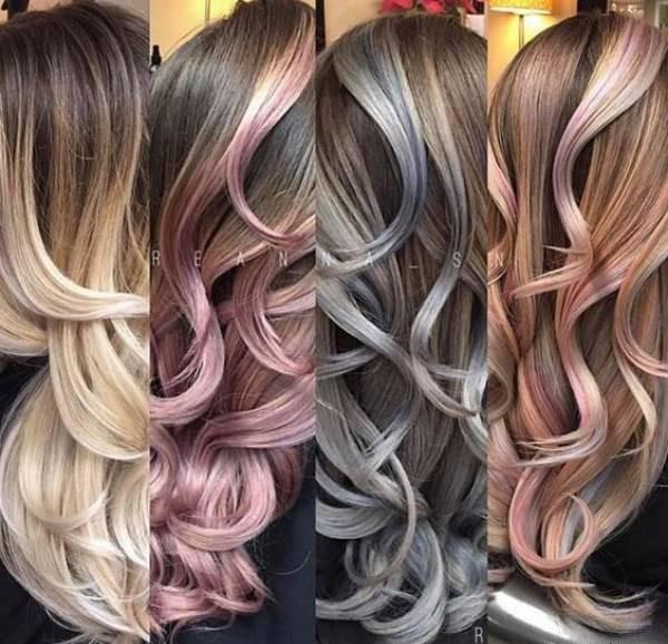 رنگ موی سال + عکس