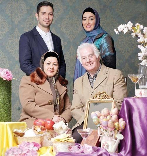 عکس بیوگرافی علیرضا صادقی همسر الهام حمیدی