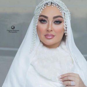 لباس عروس الهام حمیدی