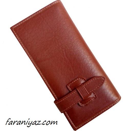 کیف پول چریمی قهوه ای