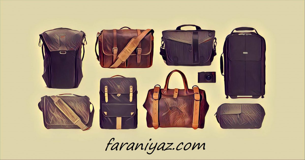 انواع کیف چرم بندی و کوله پشتی
