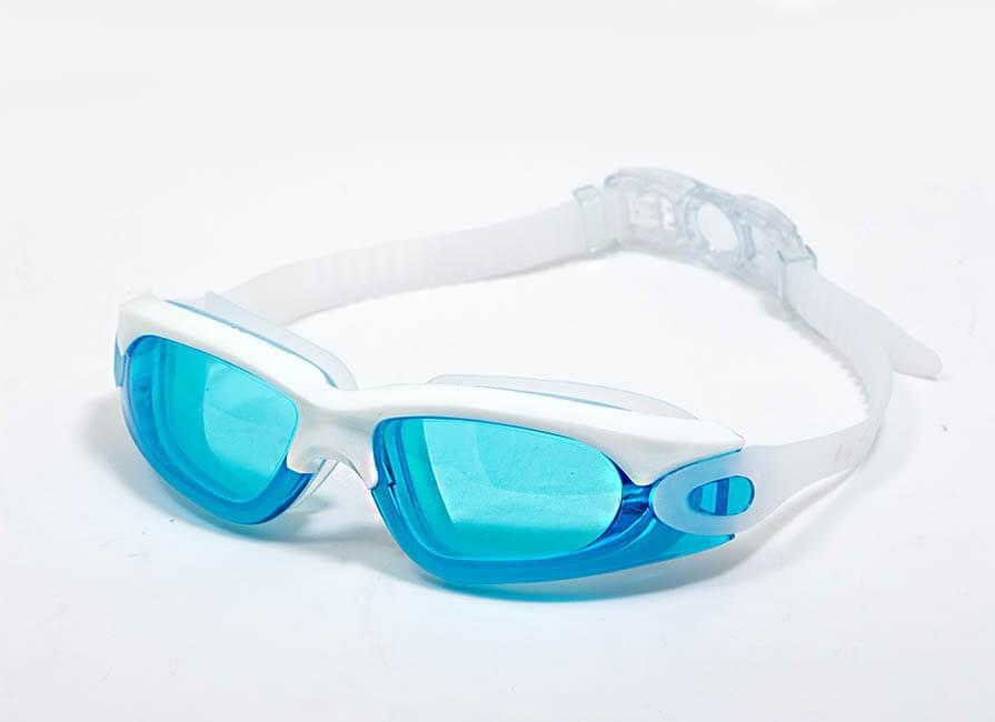 عینک شنا بند سفید
