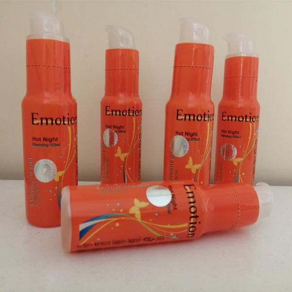ژل ایموشن نارنجی گرم کننده و تحریک کننده خانمها